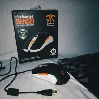 MOUSE STEELSERIES SENSEI FNATIC
