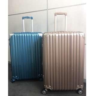 28吋曜日行旅超質感拉絲行李箱