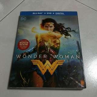 Wonder Woman Bluray/DVD