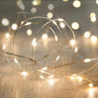Fairy Lights Copper Wire battery operated
