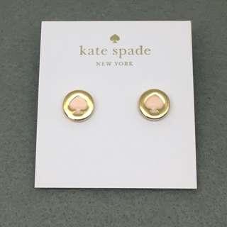 Kate Spade New York Sample Earrings 粉紅色配金色耳環