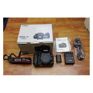 Canon 7D Mark ii (Fullbox)
