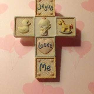 Jesus Loves Me (Hanging Ornament)