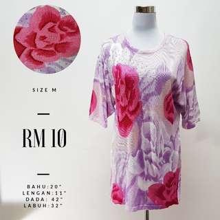 Floral Short Sleeve