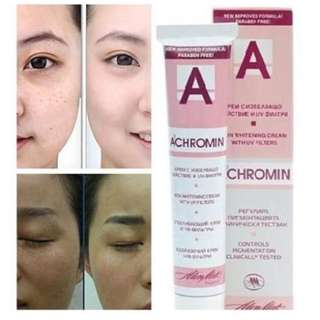 [AUTHENTIC] Original Achromin® Skin Whitening Cream (pigmented spots, freckles, brown patce)