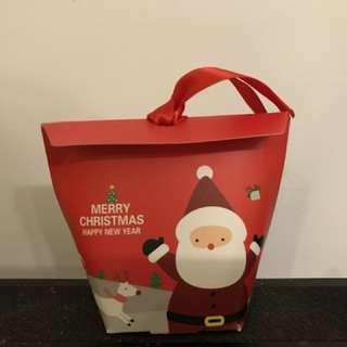 Christmas Cookie Kraft paper bags