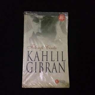 "buku Kahlil Gibran ""filosofi cinta"" (best seller)"