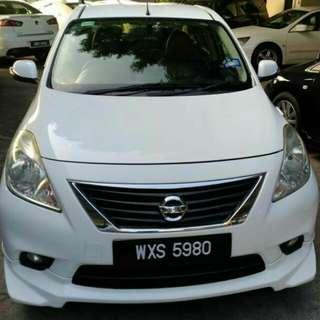 Nissan Almera 1.5 VL (A) Impul