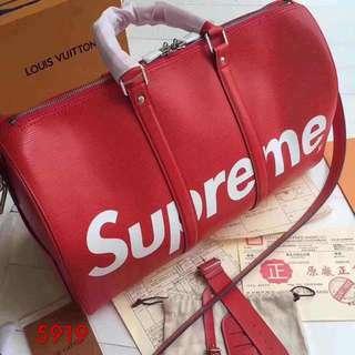 LV supreme bag