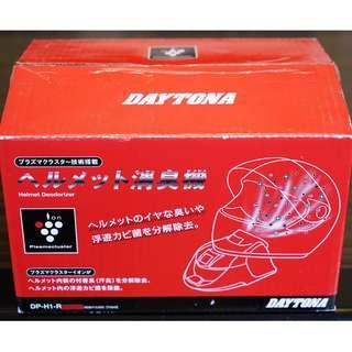 日本 DAYTONA 負離子 安全帽 除臭機 採用 夏普 SHARP ion Plasmacluster 技術 空氣清淨機