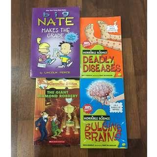 [Sale] English Story and Comic Books