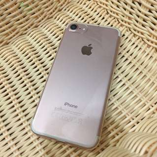 iPhone 7 128gb rose gold cant turn on broken 開唔到