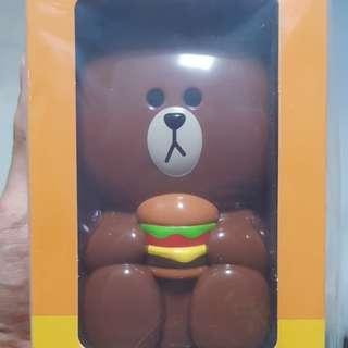 McDonald's Brown Electronic Fan