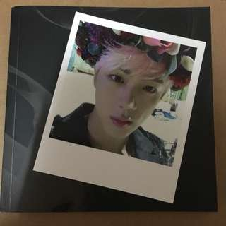 WTS - BTS WINGS ALBUM WITH JIN POLAROID