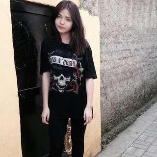 bajun guns n roses black