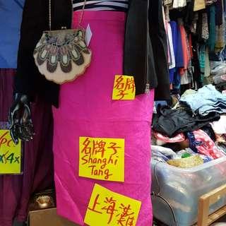 上海灘絲質半截裙