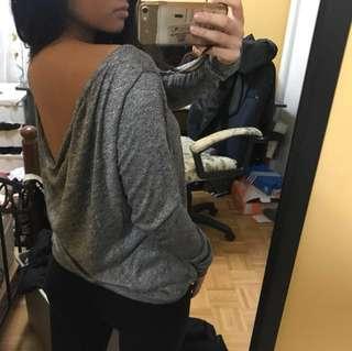 Low back long sleeve