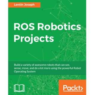 ROS Robotics Projects [eBook]