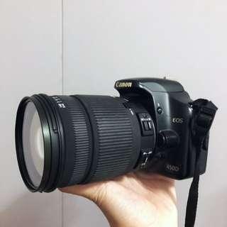 Canon 450D DSLR SLR