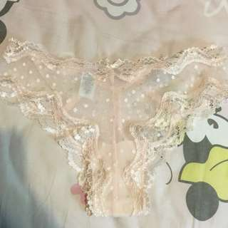 (Used) 68 pale pink lace panty