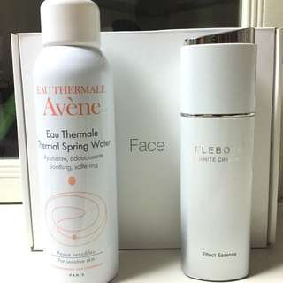 Avène Thermal Spring Water ➕FaceShop Serum