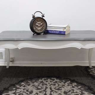 BEAUTIFUL TWO TONED COFFEE TABLE