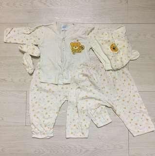 5 pcs set baby clothing