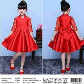 DRESS LITTLE MEY RED