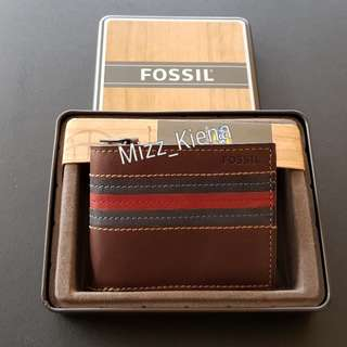 NEW Fossil Men Wallet