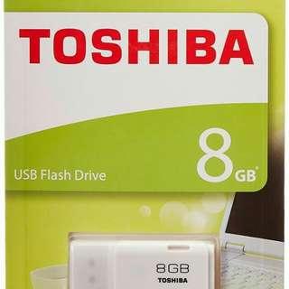 Flashdisk Toshiba 8 GB / Flash Disk USB/ Pen Drive Flash Drive Toshiba