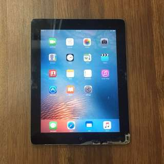 iPad 2 (WiFi) 16GB - Cracked screen
