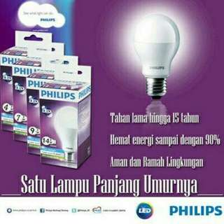 Lampu LED Philips  4 watt