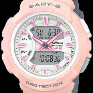 CASIO BABY-G BGA-240-4A2 WATCH Pink Gray