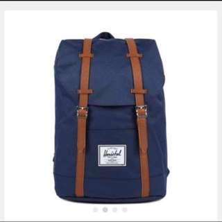 Herschel Retreat Classic Backpack Navy Unisex Backpacks ✨全新✨👉🏻代友放👈🏻