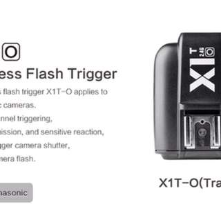 Godox X1T-O TTL Wireless Flash Trigger - Olympus Panasonic