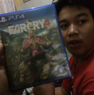 Farcry 4 , kaset ps4 bd