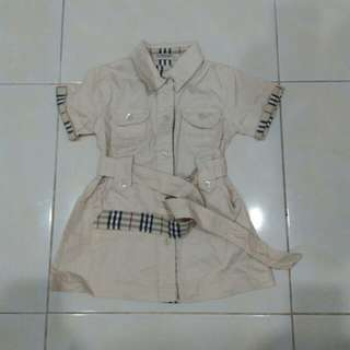 burberry dress for kids
