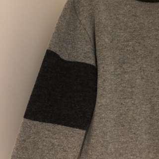 灰階針織毛衣
