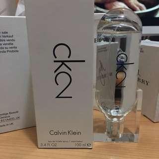 Calvin Klein ck2 100ml taster