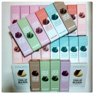 {Instock!}April Skin Turn-Up Color Treatment Hair Dye/Bleach Kit(Authentic)