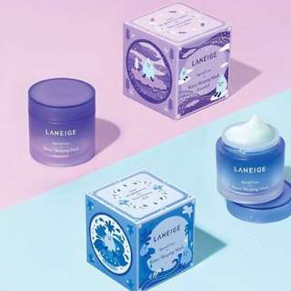 🎄✨INSTOCK! Laneige Water Sleeping Mask Limited Edition Lavender 70ml