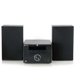 Blackweb CD Stereo System with Bluetooth® Streaming