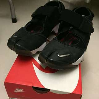 Nike Air rift QS Anniversary 忍者鞋 麂皮