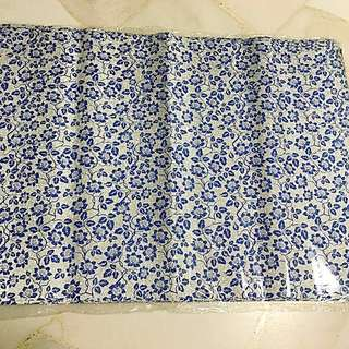 Brand New: Blue flowers gift wrapper 70cm by 51cm