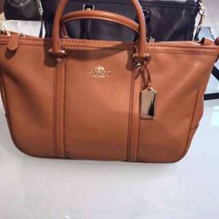 101% AUTHENTIC COACH F55662 BROWN BAG