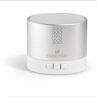 Swarovski Bluetooth Speaker With Crystals (Authentic)