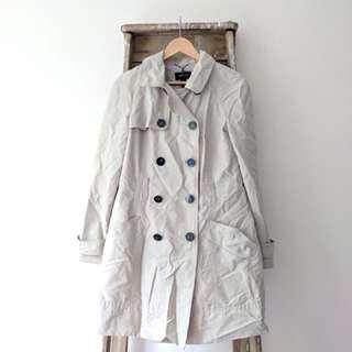 Mango beige trench coat