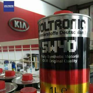 VOLTRONIC 5w40 Fully Synthetic Motor Oil  1 litre