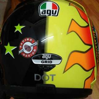 Helmet Agv Grid Sun And Moon
