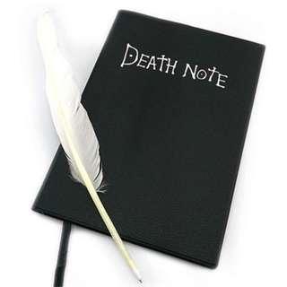 Deathnote Book Deathnote Black